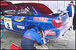 Martin Rauami võistlusauto. Foto: Riho Roose