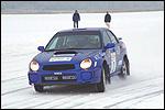 Martin Rauam - Peeter Poom Subaru Imprezal. Foto: Rauno Kais