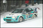 Margus Remmak - Olaf Suuder Mitsubishil. Foto: Rauno Kais